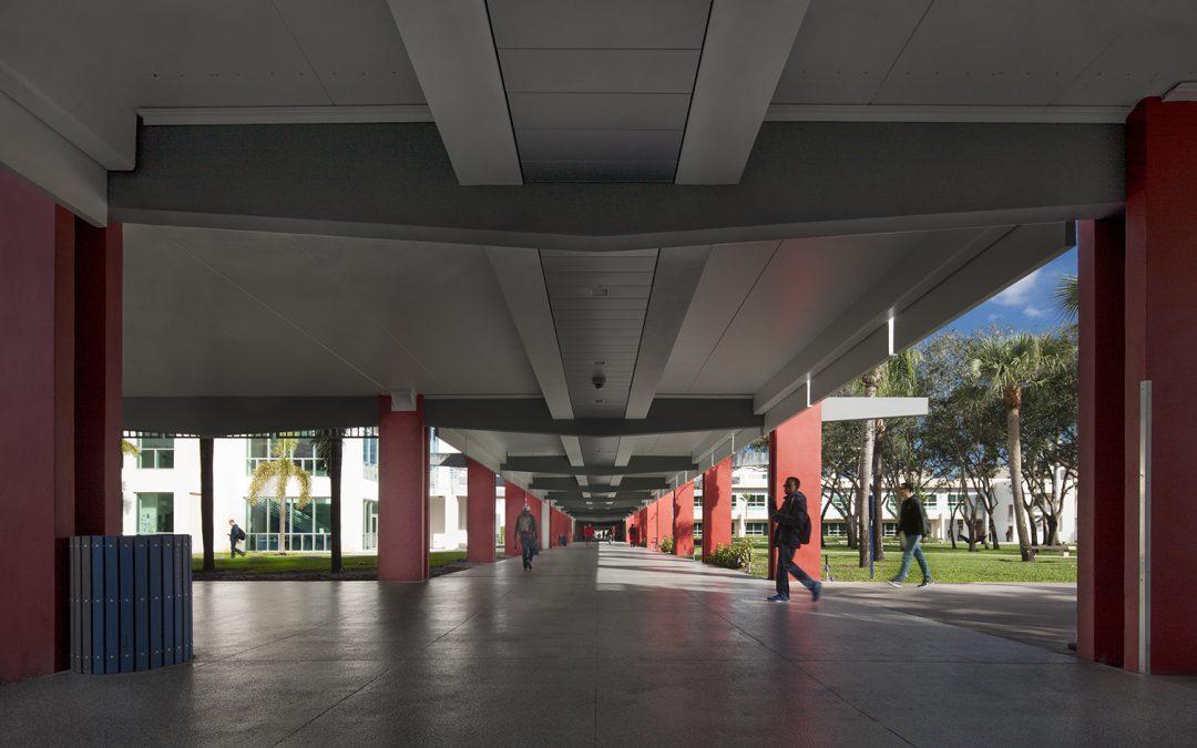 Florida Atlantic University Breezeway